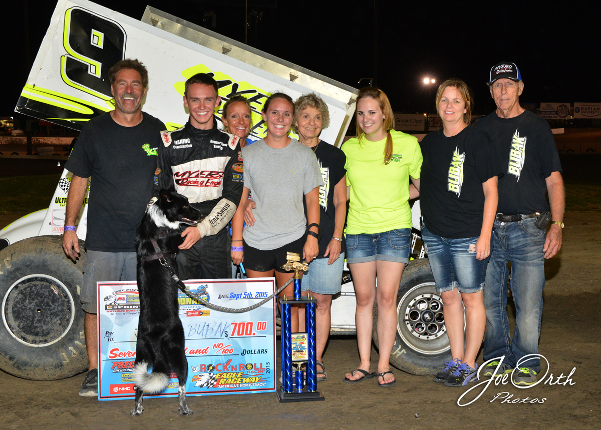 Night 2 of Racesaver IMCA Sprint Nationals sees Thompson, Bubak, McKinney and Carney win