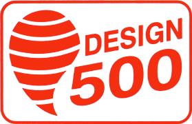 Design 500 logo
