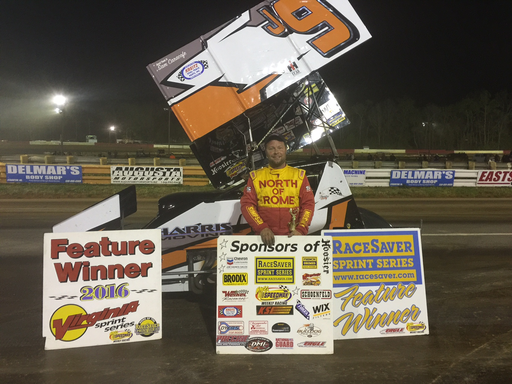 Jerald Harris wins at Eastside Speedway