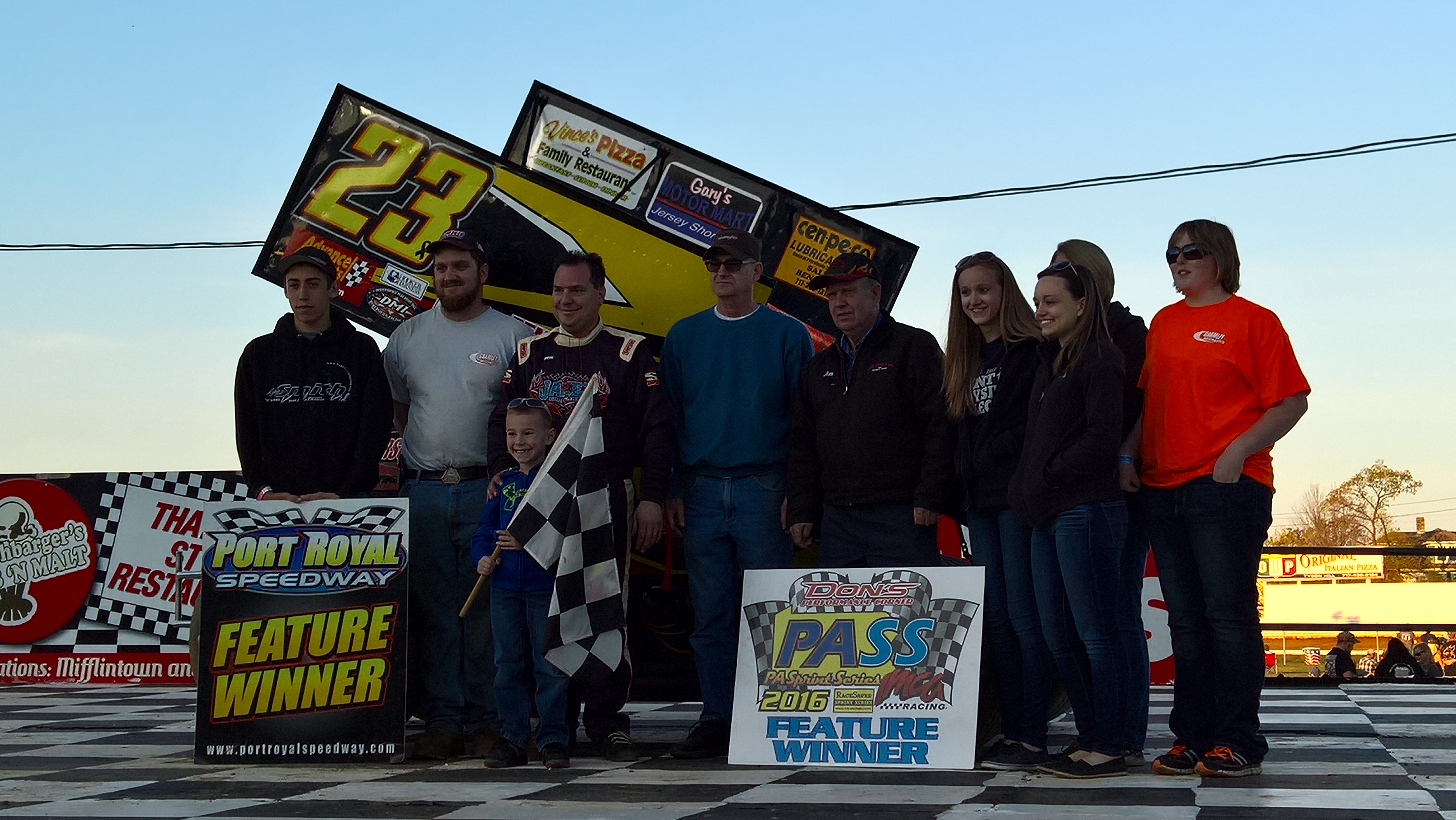 Gramley makes clean sweep at Port Royal