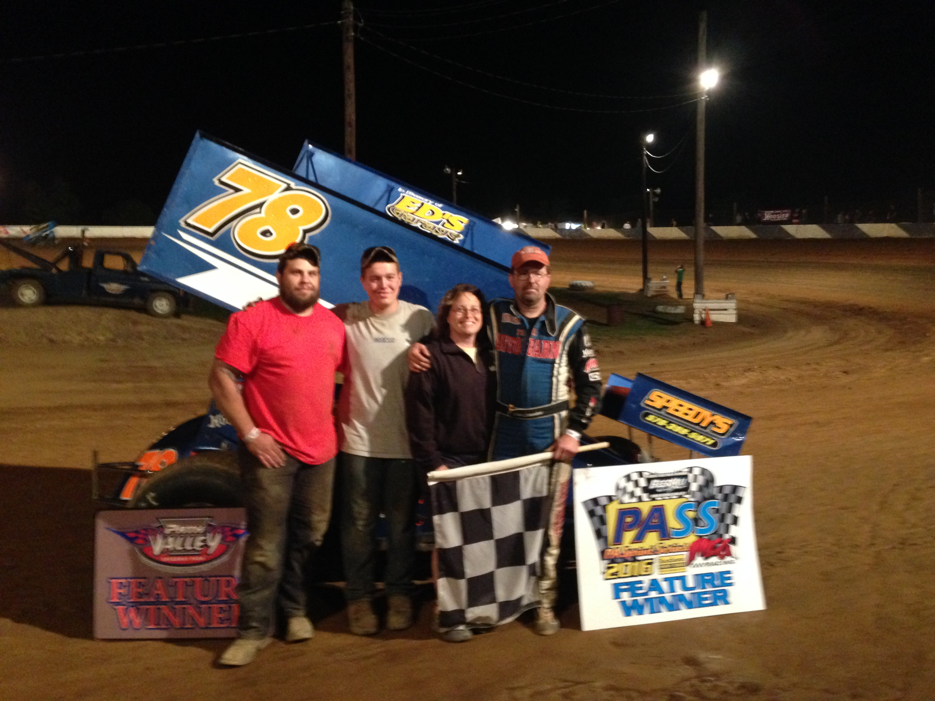 Schweikart wins at Path Valley Speedway