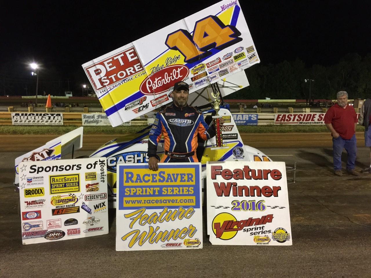 Lawson wins VSS race at Eastside Speedway