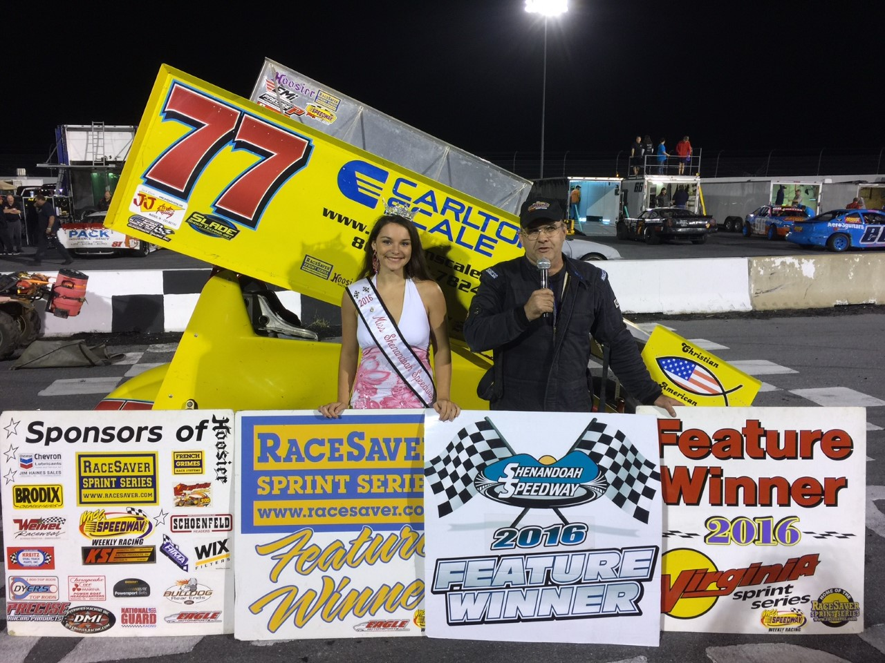 Shenandoah Speedway's VSS Victor is Leraas