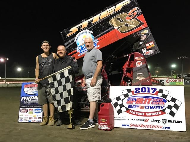 Davis & Stief Split MASS Double Features at Bridgeport Speedway