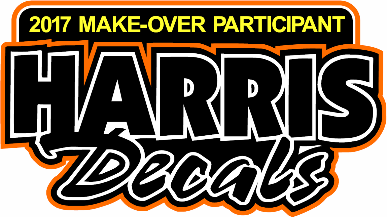 Sign up for Harris Decals RaceSaver Nationals℠ Make-Over Award