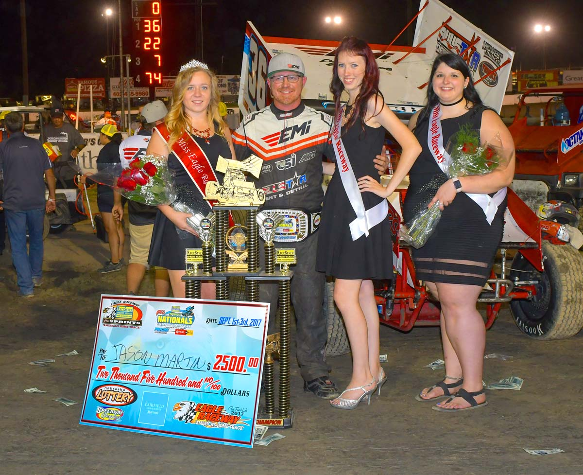 Jason Martin is the RaceSaver Nationals℠ Champion!