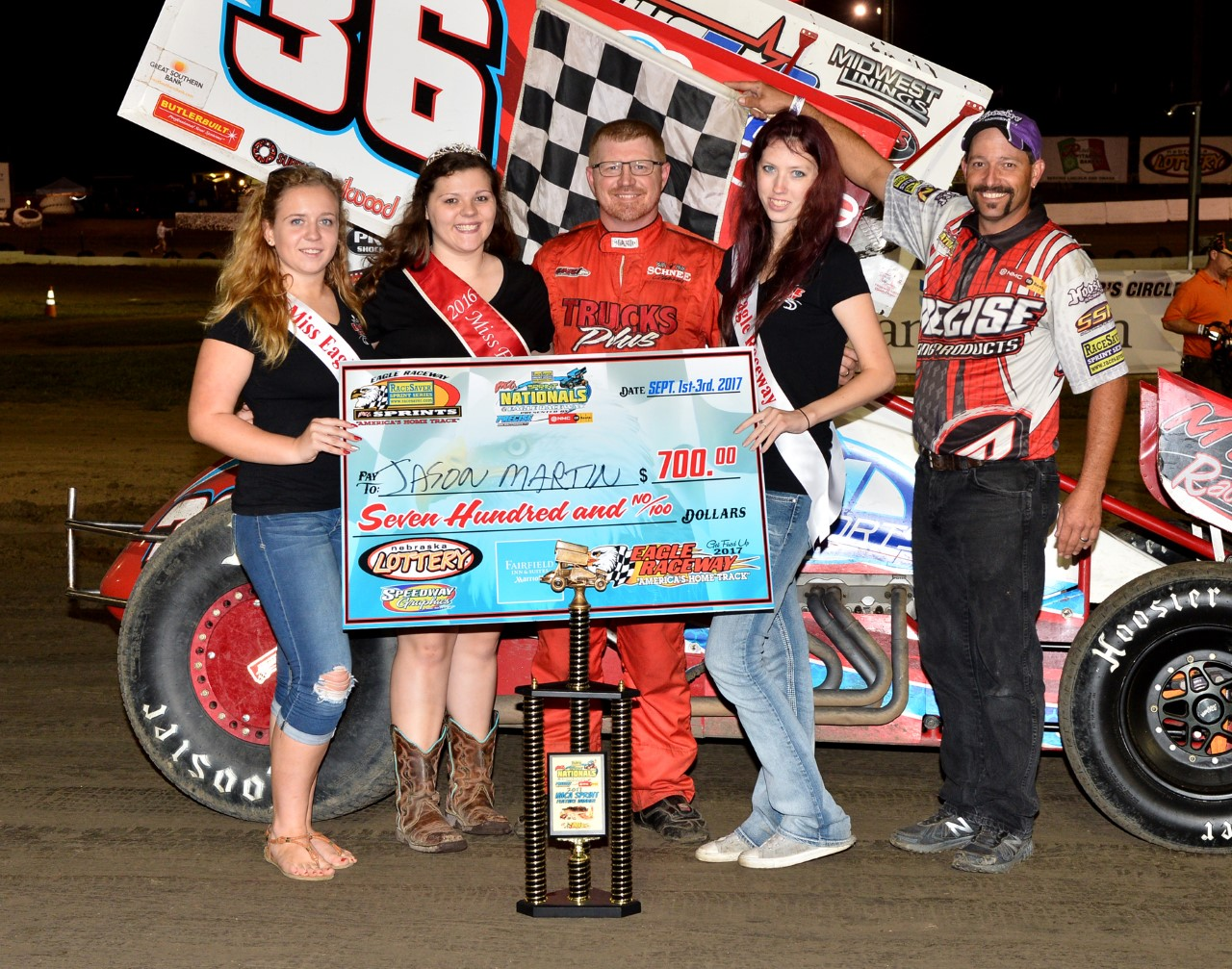 Jason Martin Conquers Night 1 of RaceSaver Nationals℠