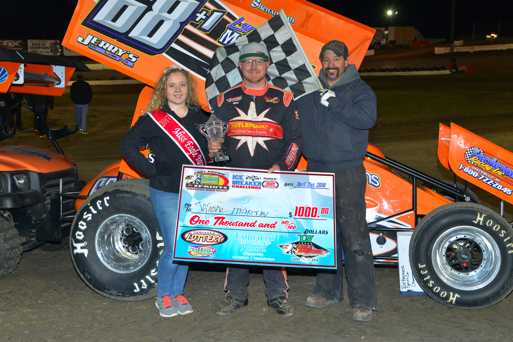 Martin conquers IceBreaker Challenge at Eagle Raceway