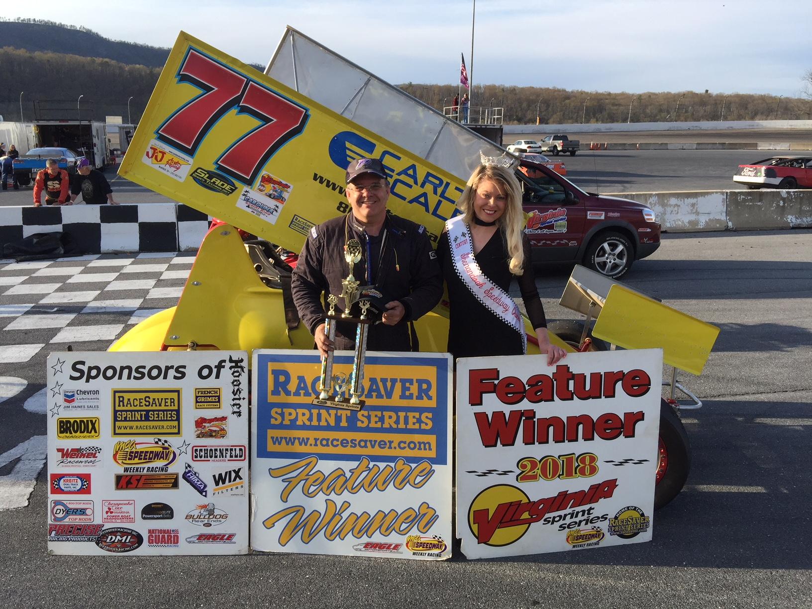 Leraas wins VSS race at Shenandoah Speedway