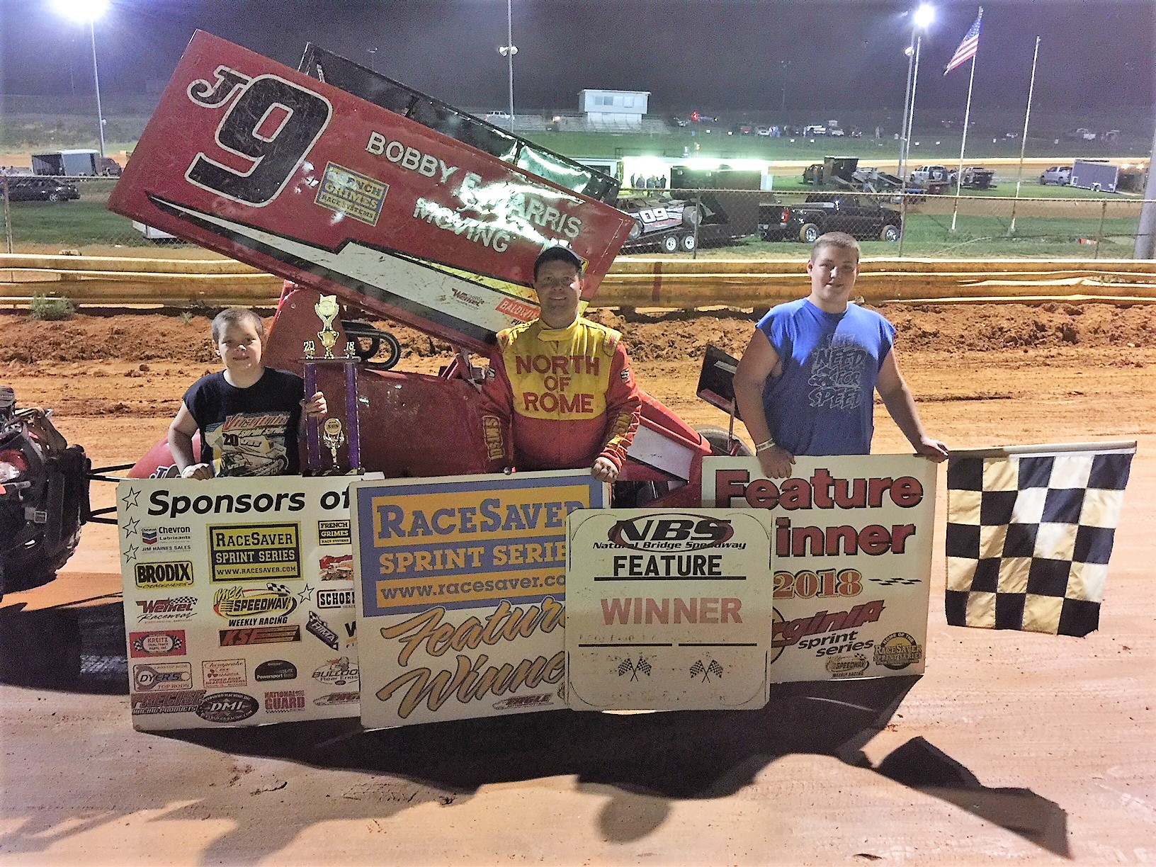 Jerald Harris Sweeps VSS race at the Bridge