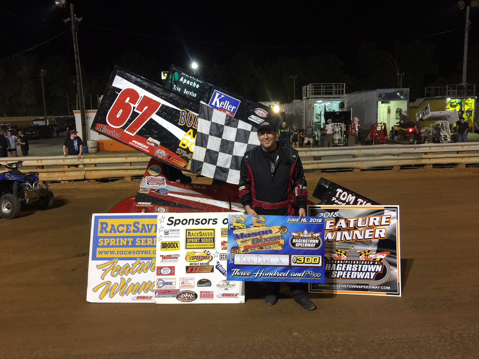 Ken Duke wins at Hagerstown