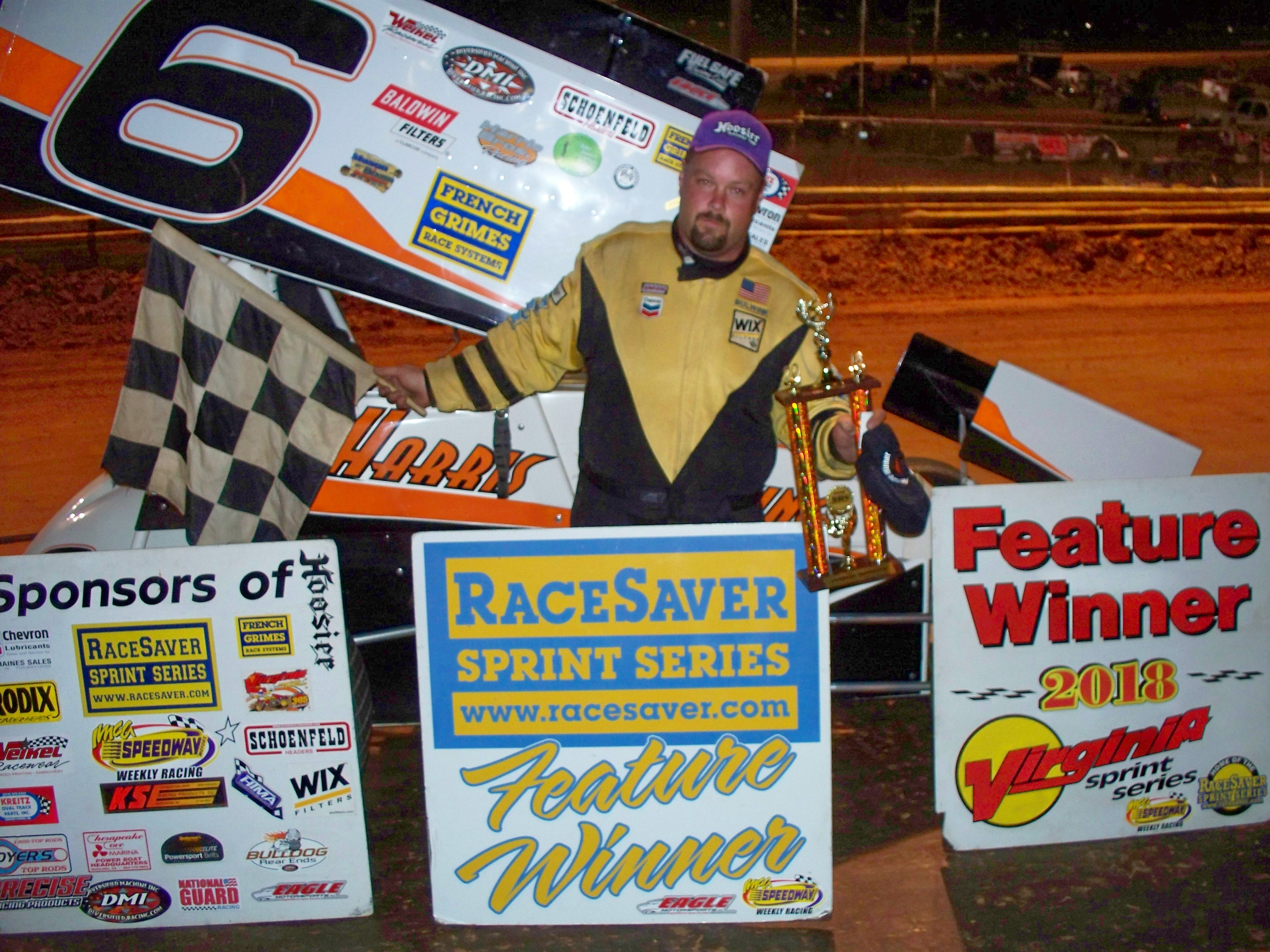 Tony Harris gets first win of the year with VSS at Natural Bridge