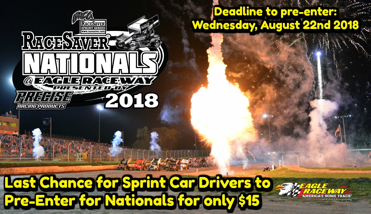 Last Chance for RaceSaver IMCA Sprint Nationals Driver Pre-Registration for only $15