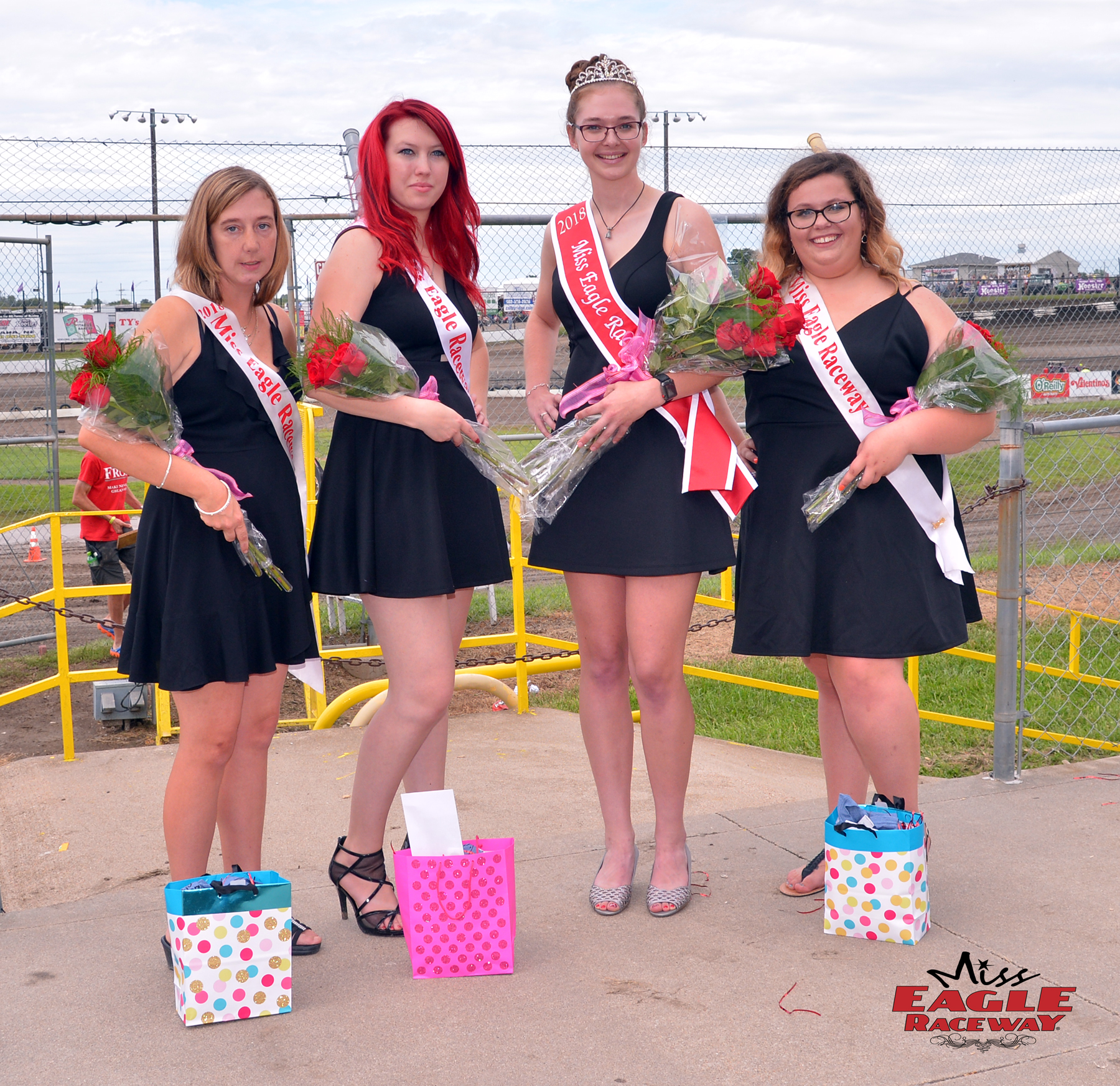 CJ Jurgens was crowned 2018 Miss Eagle Raceway at RaceSaver Nationals