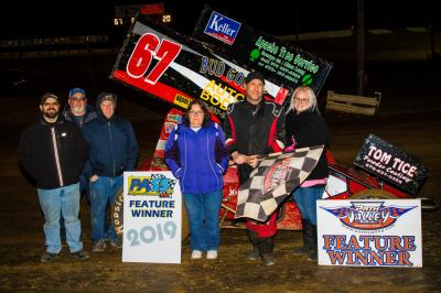 Ken Duke Jr. wins PASS/IMCA opener at Path Valley