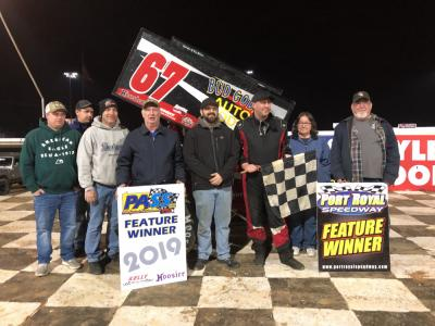 Duke tops 43-car PASS field For Port Royal win