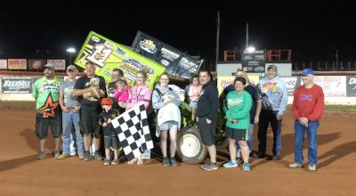 Zach Newlin claims victory at BAPS Motor Speedway