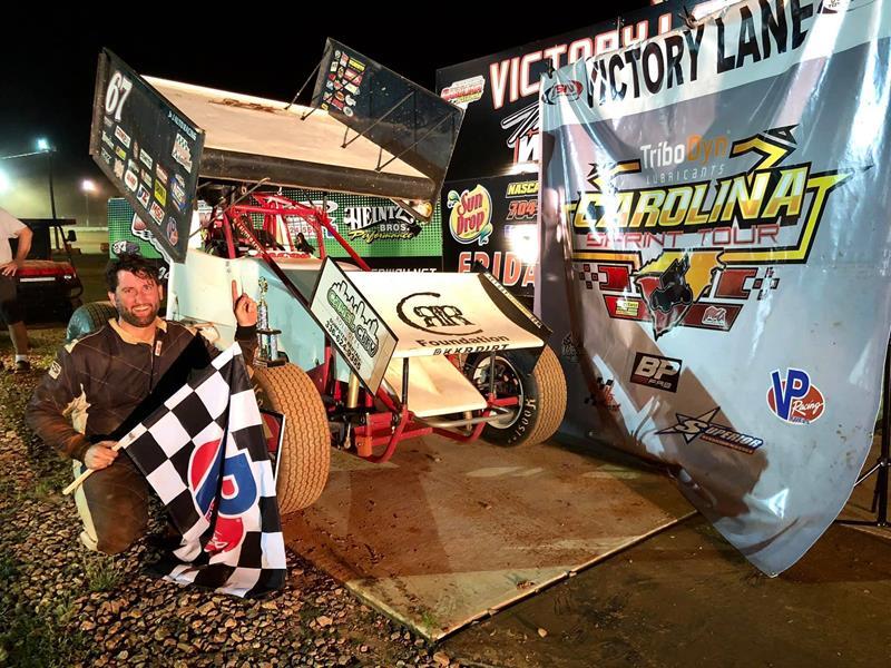 Jake McLain scores win at Carolina Speedway