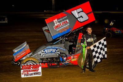 Walp Wins at Trail-Way Speedway