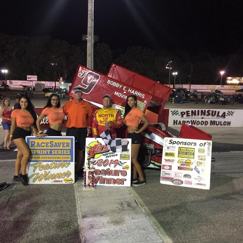 Jerald Harris Wins at Langley Speedway