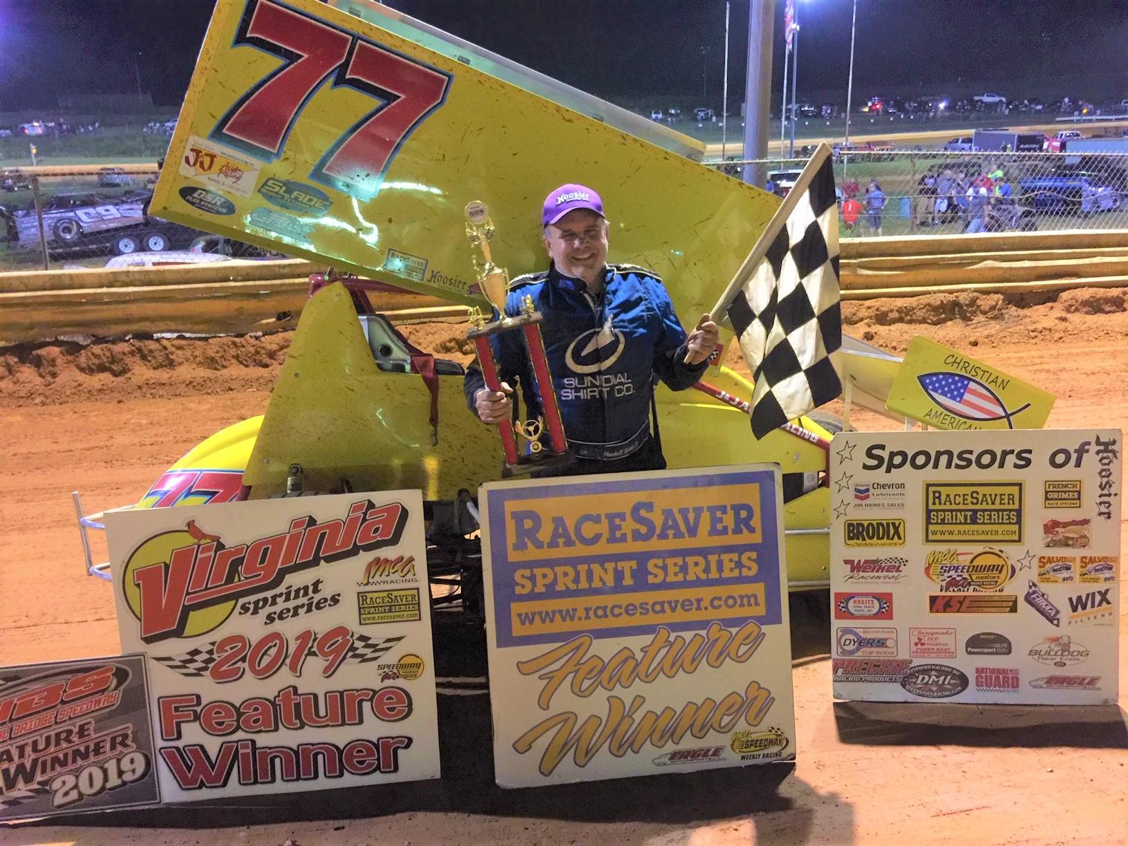 Mike Leraas Wins at Natural Bridge Speedway