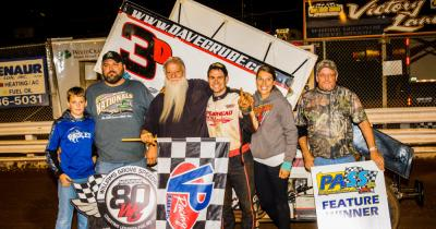 Dave Grube gets first 2019 win at Grove speedway