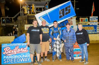 Bard Wins at Bedford Speedway