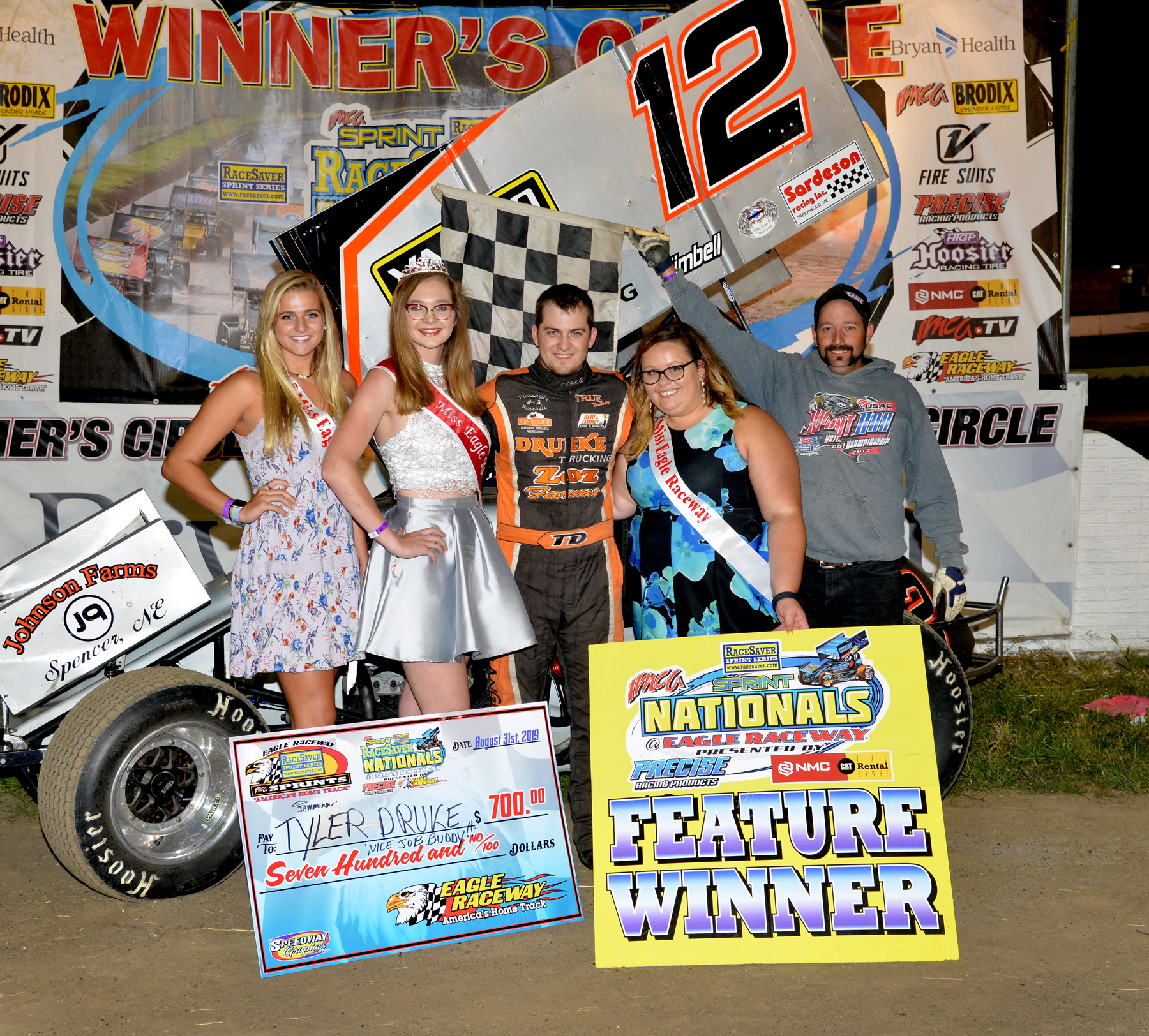 Saturday Portion of RaceSaver Nationals victory goes to Drueke, Bubak wins Race of Champions