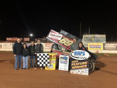 Landon Wins At BAPS Motor Speedway