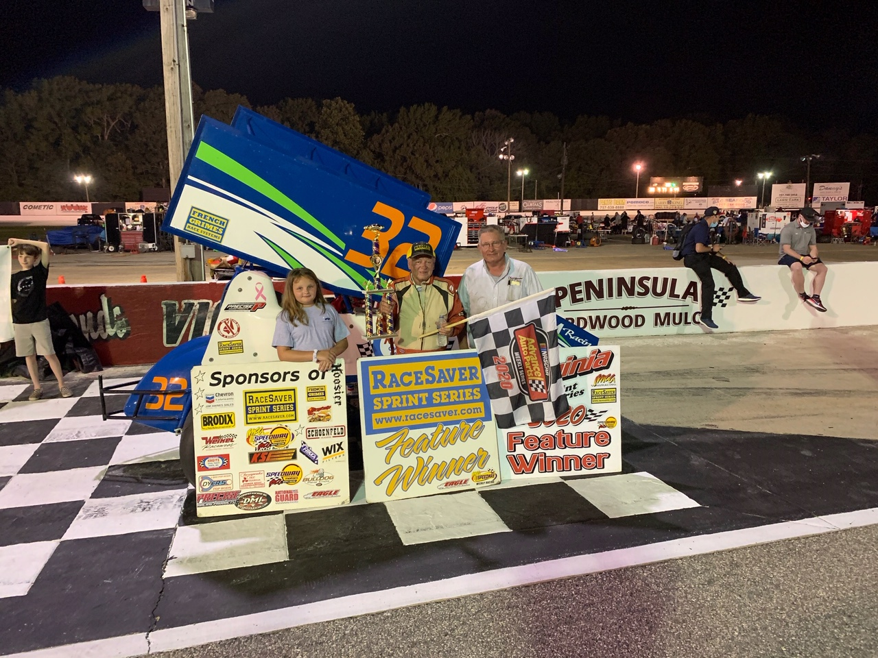 BILL RICE WINS JULY 4TH AT LANGLEY SPEEDWAY