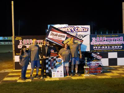 Landon Price wins at Path Valley
