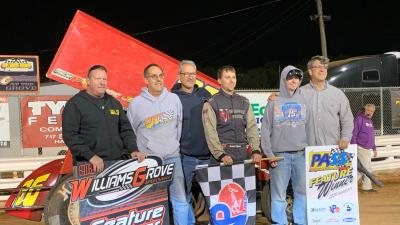 HANSON WINS AT THE GROVE