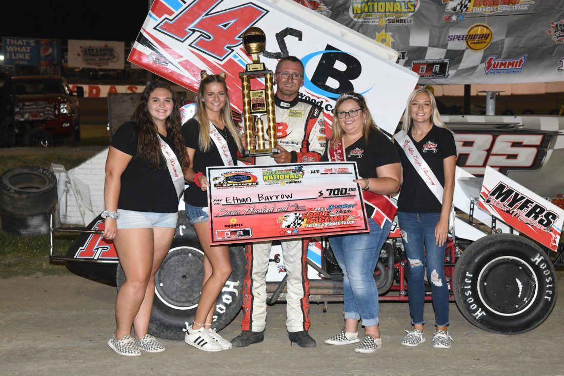 Ethan Barrows conquers Night One of Qualifying at RaceSaver Nationals
