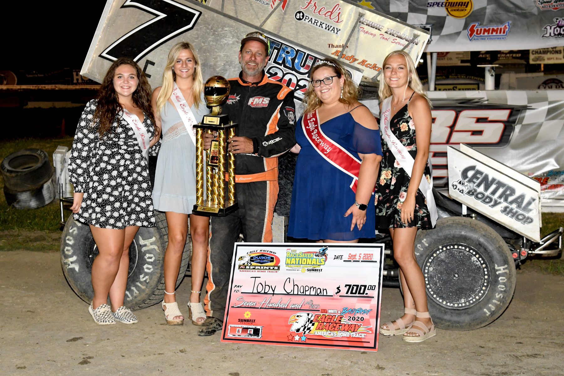 Toby Chapman claims victory at Night 2 of IMCA RaceSaver Nationals Qualifying