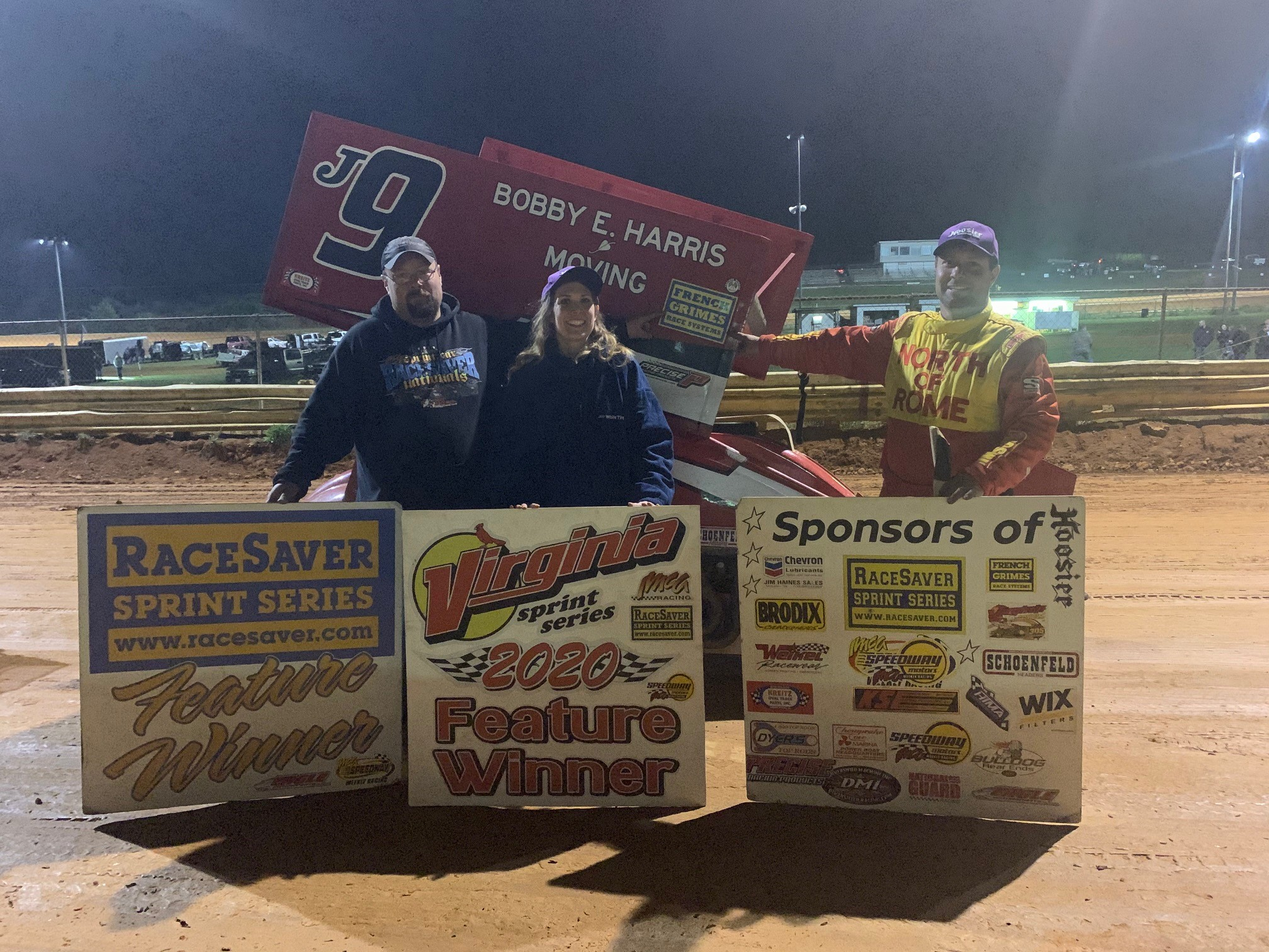 JERALD HARRIS WINS AT NATURAL BRIDGE