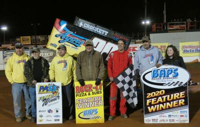 DODSON WINS TWICE AT BAPS