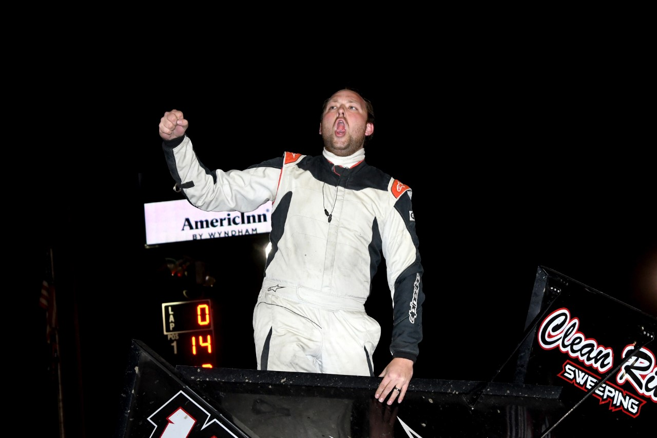 Joey Danley Conquers Eagle Raceway's Season Opener presented by A1 Iron & Nebraska Lottery