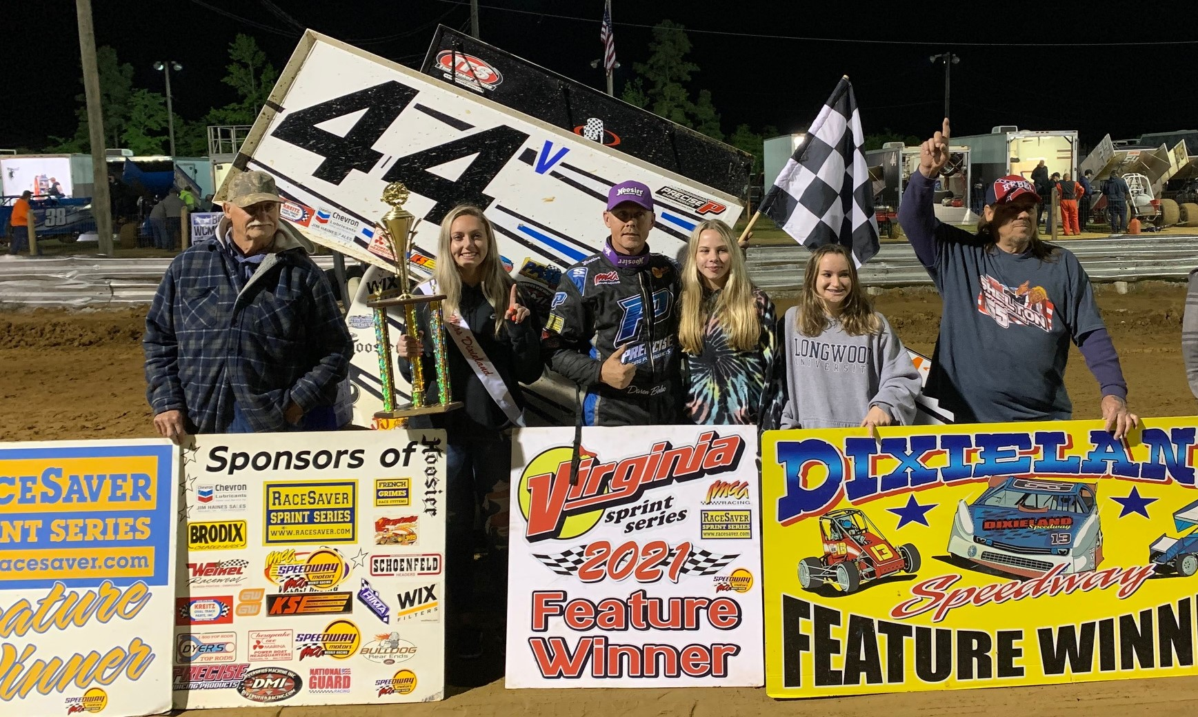 VSS Daren Bolac is the Fast Friday Hi-Flyer at Dixieland Speedway