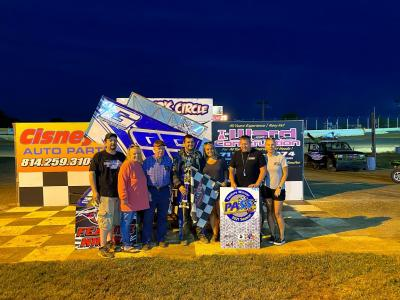 Bard Back in Path Valley Victory Lane on PASS Tour