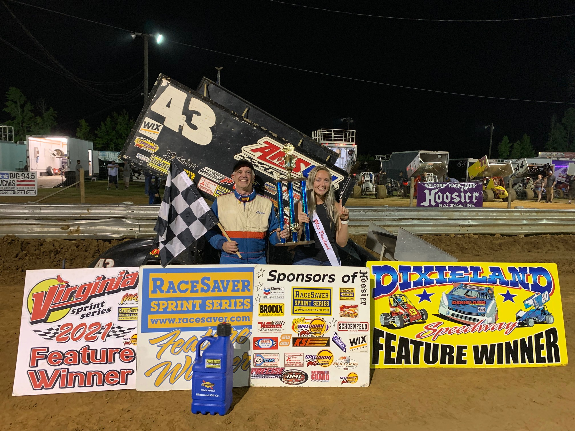 Chris Ware Fastest on Fast Friday Final on VSS Tour