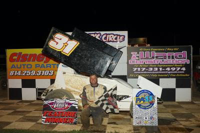 Hendershot Repeats at Path Valley; Dom Melair Wins Make-up Feature